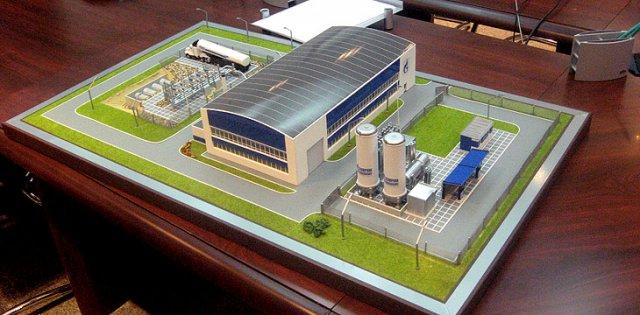 Промышленное здание своими руками