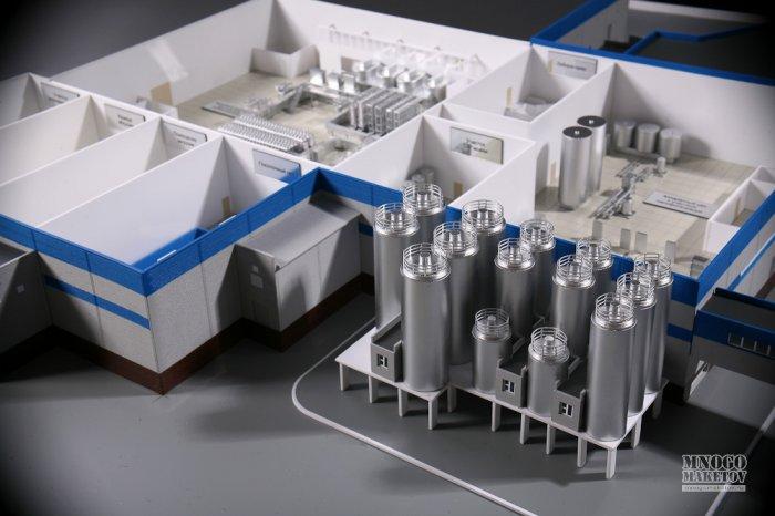 Как сделать макет завода из бумаги своими руками